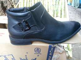 Official shoes leather black & coffee brown40-45 at affordable price