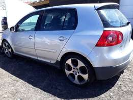 Golf 5 Manual 6 Speed Gearbox plus flywheel