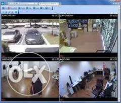 CCTV cameras protect your business(live on mobile)