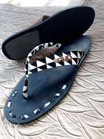 Leather sandals of all types of design
