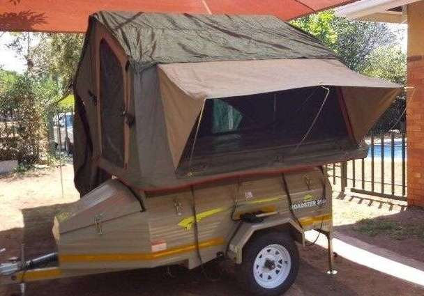 Campmaster Roadster 350 Trailer with Tent