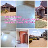 Spacious own compound three bedroom house for rent