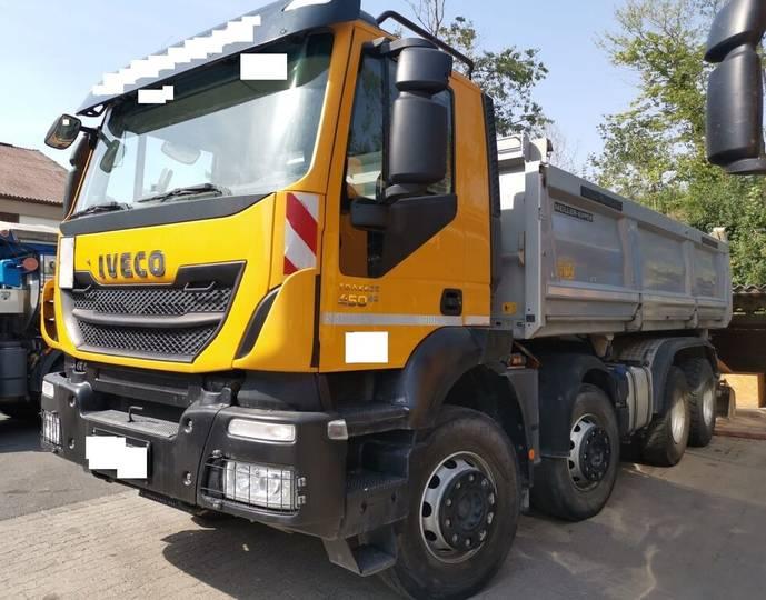 Iveco AD 340 T 8x4 Euro 6 Meiller Bordmatik - 2016