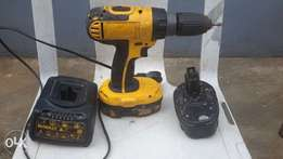 DeWalt Cordless Power Driver with Charger & 2 Batteries