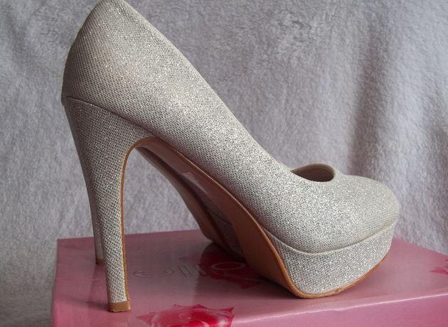 Туфли серебряные - туфлі срібні р. 38 d246ccad6d875