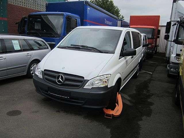 Mercedes-Benz Vito 113 Mixto 5 Sitze Klima Navi AHK LKW - 2013