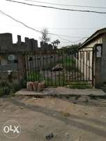 Half plot of land at Peace Estate,Gbagada Fenced&Gated 9m