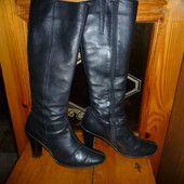 Сапоги женские кожаные 0acc728b82af8