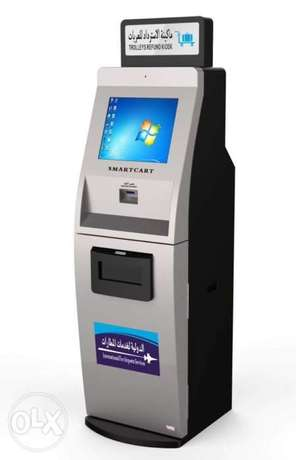 Payment and refund kiosks , ATMS