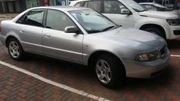 2001 Audi A4 1.8T, 185 400km for R50 000.00