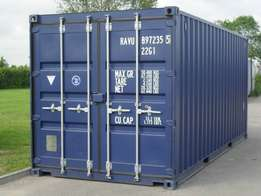 used 20ft steel dry cargo containers available.
