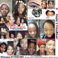 Makeup artist for any occasion