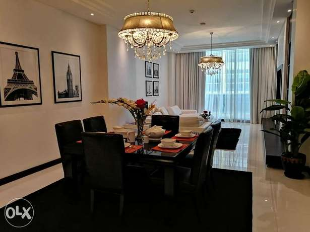 Luxury Style 3 BR FF Apartment+ Balcony Near to Juffair Mall For Rent