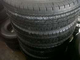 We got tyres From Size 14 inch to 22 inch at Cam Afrik Mags & Wheels