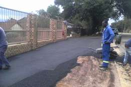 Industrial and Residential tar surfacing , paving , parking bays etc