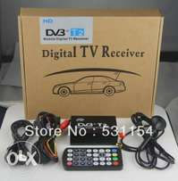 Mobile car DVB-T2 TV receiver with USB:For Toyota,subaru,nissan:12000