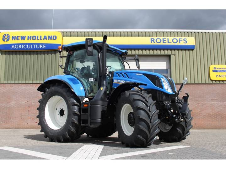 New Holland T6.155 dynamic command - 2019