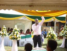 MC, Public Address System Hire