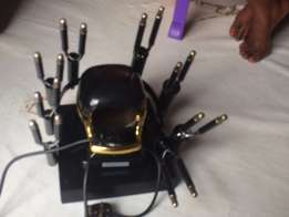Salon toning machine for ladies hair two months used