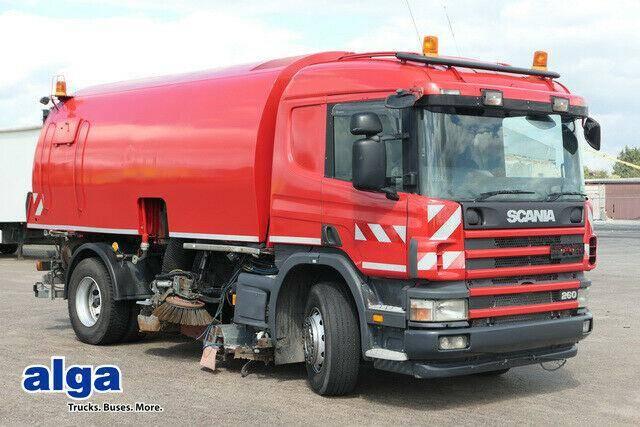 Scania Stra?enkehrmaschine,Bucher Schorling Omnifant 80 - 2005