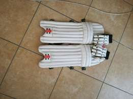 junior Gray Nicolls pads and gloves in good condition