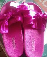 Ladies colorful slippers