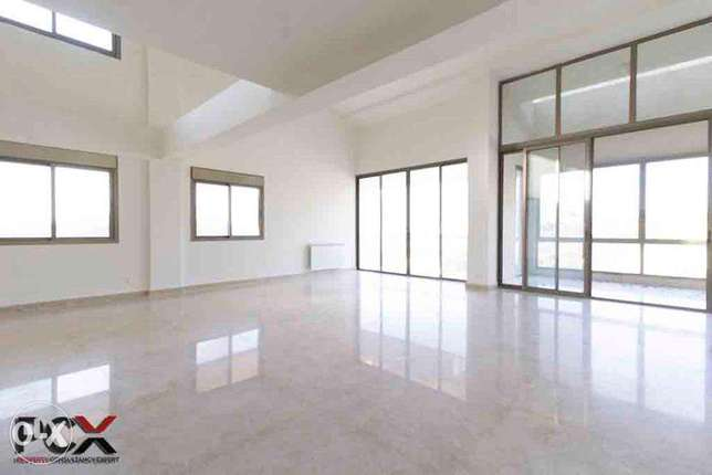 Spacious Duplex with Terrace and View in Hazmieh