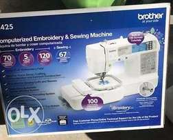 Brother SE425 computerizes sewing and embroidery