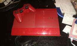 Limited edition red playstation 3