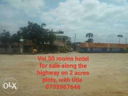 Mombasa Nairobi highway hotel for sale