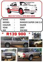 Ford Ranger Super Cab 3.0