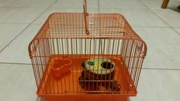 Hamster travel cage small.