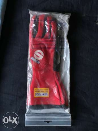 Sparco FIA racing gloves