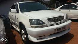 New Toyota Harrier 1999 model UBA in a perfect conditioning