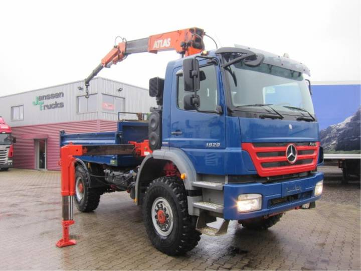 Mercedes-Benz Axor 1829 A 4X4 Atlas 4006B Manual Euro 5 - 2010