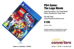 PS4 Game: The Lego Movie
