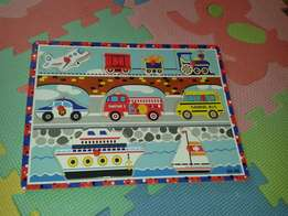 Toy transport puzzle