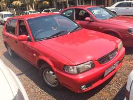 Toyota Tazz Red For Sale