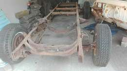Chev apache 58 rolling chassis