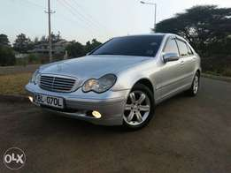 mercides benz c 200 compressor (trade in accepted)