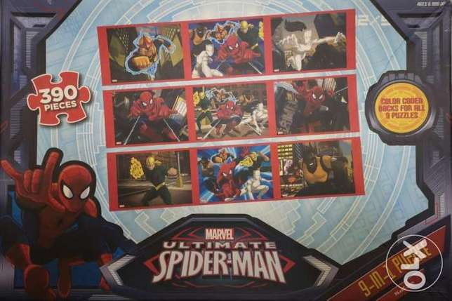 9-in-1 2d puzzle marvel
