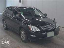 Toyota Harrier With Sunroof.