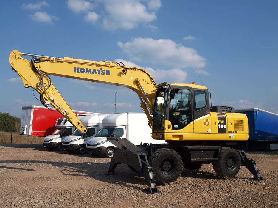 Komatsu PW180 - 2011