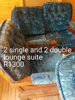 2 single and 2 double lounge suite