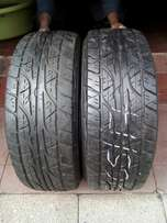 265/65/17 Dunlop Tyre's for sell
