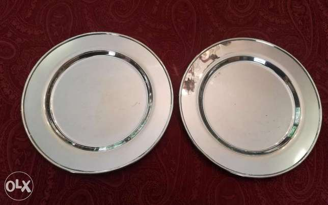 Pair of silver trays 410.000LL
