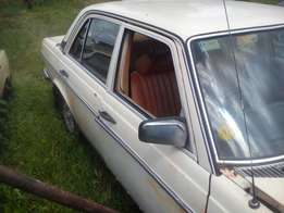 Mercedes W123 Series Stripping for Spares