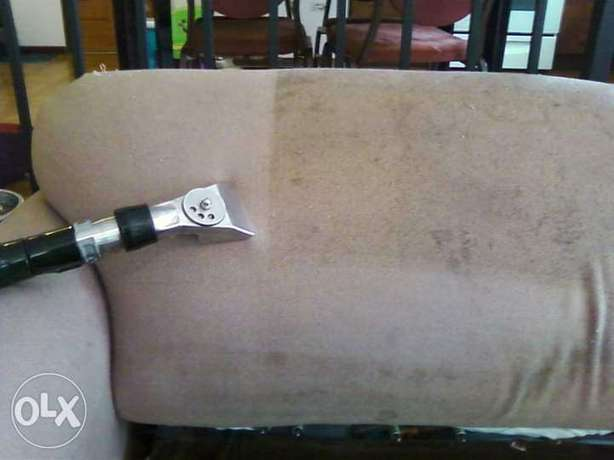 We can come to your home sofa and carpet clean with shampoo
