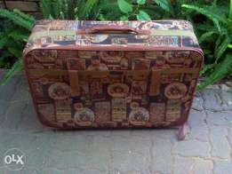 Big Suitcase with small wheels