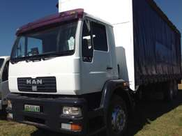 Man M2000 curtain body on clearence special now